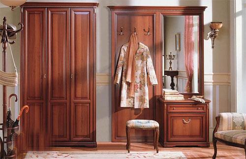 Классическая мебель для прихожей
