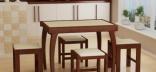 Выбираем кухонный стол: какое подстолье лучше?