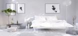Кровать и постельное белье