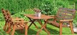 Деревянная садовая мебель – комфорт и гармония на вашем участке