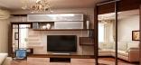 Как разместить корпусную мебель в гостиной