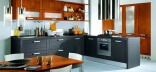 Многообразие материалов для кухонной мебели