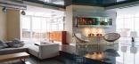 Оформление гостиной в стиле хай-тека или классики