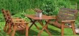 Садовая мебель – материалы и характеристики